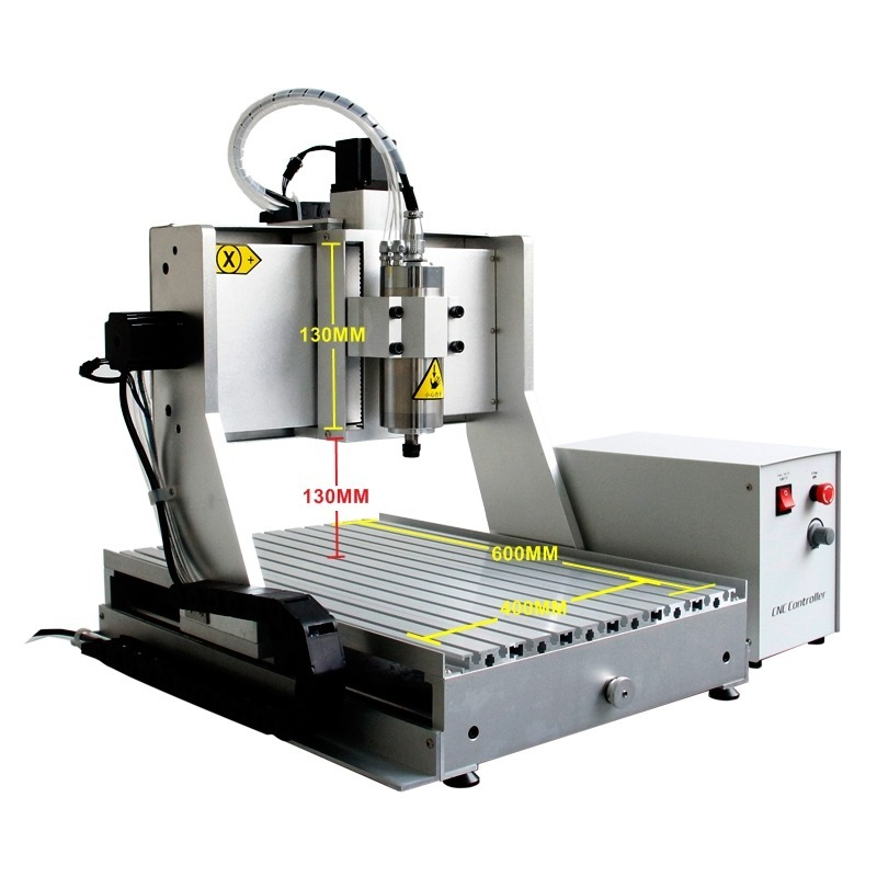 Maquina Cnc Con 4to Eje Spindle 1.5 Kw (2 Hp)60x40 Cm 110v ...