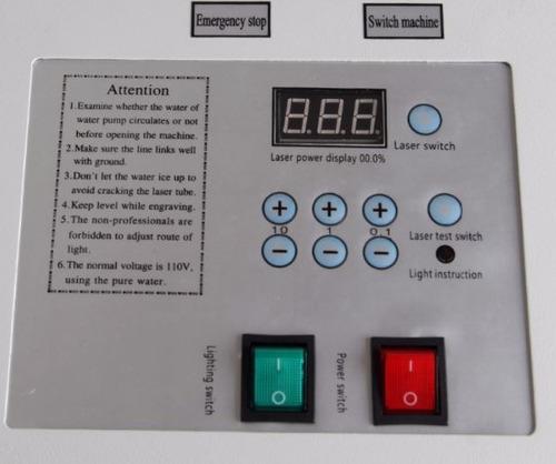 maquina cnc cortadora grabadora laser co2 40w