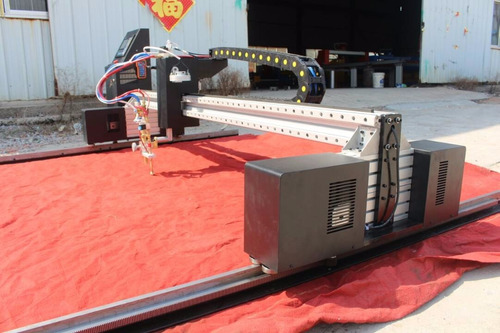 maquina cnc  de corte plasma y oxicorte portico  2.5  x 7.5m