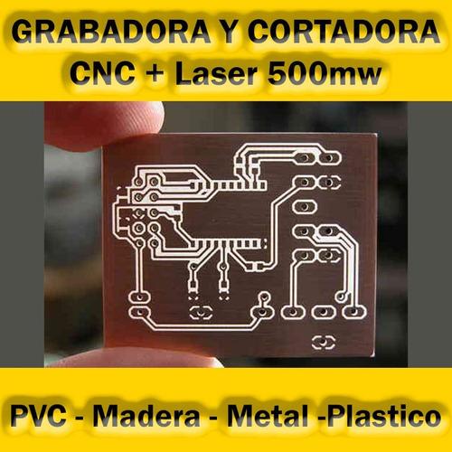 maquina cnc laser grabadora cortadora