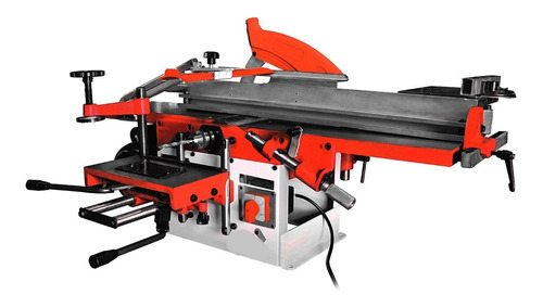 máquina combinada carpintería 5 funciones 2 hp 200mm garlopa