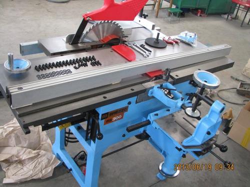 maquina combinada de carpinteria de 10 funciones de 300 mm.