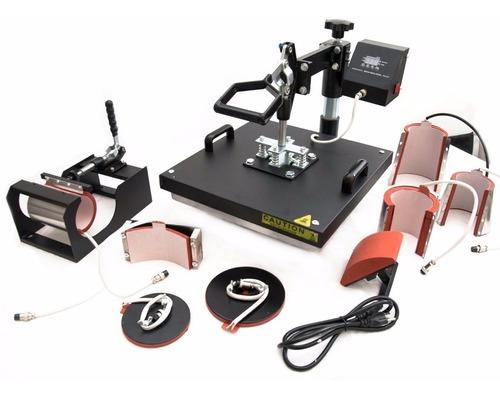 maquina combo 9 en 1 sublimacion + impresora