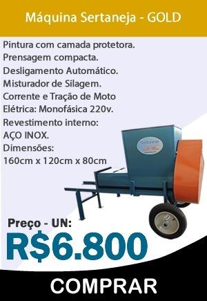 Maquina Compactar E Empacotar Silagem - R  6.800 c3e6cfedcb3