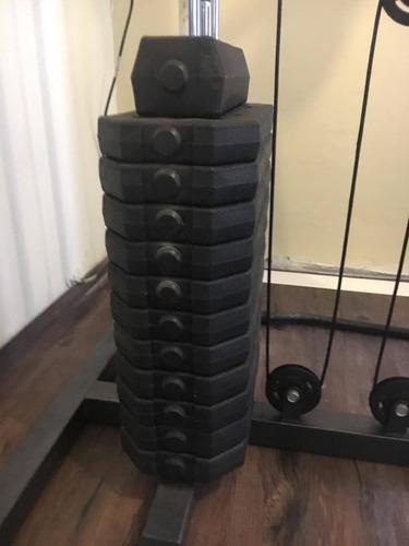 maquina completa para hacer ejercicios