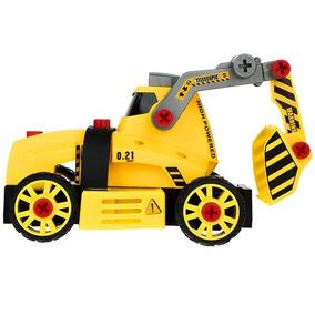 Construccion Pala Excavadora Con Para Maquina Juguete Armar 345LqcjAR