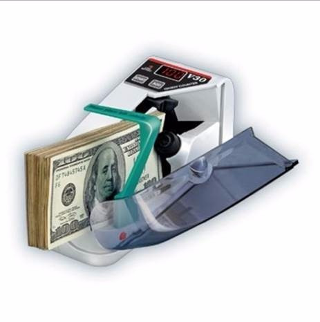 maquina contadora billetes portátil v30a energía pilas nueva