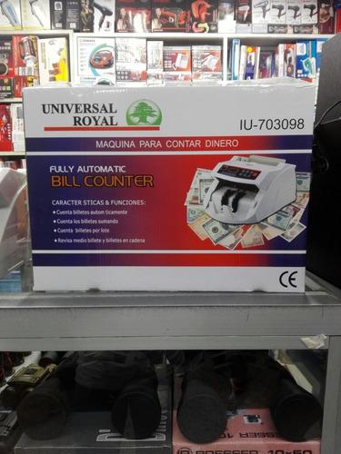 maquina contadora de billetes universal royal iu-703098