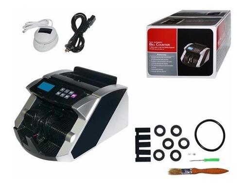 maquina contadora de billetes y detector de billetes falsos