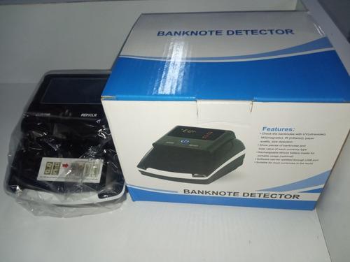 maquina contadora de billetes y verificadora