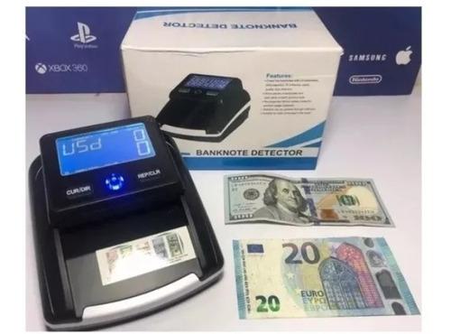 maquina contadora y detectora billetes falsos dólar euro