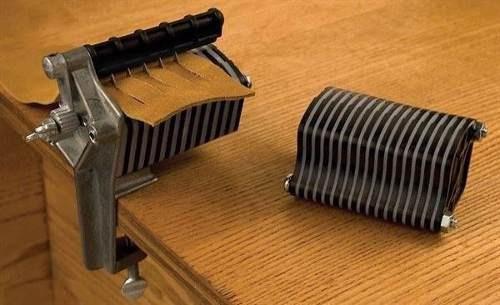 maquina correas y cinturones de cuero
