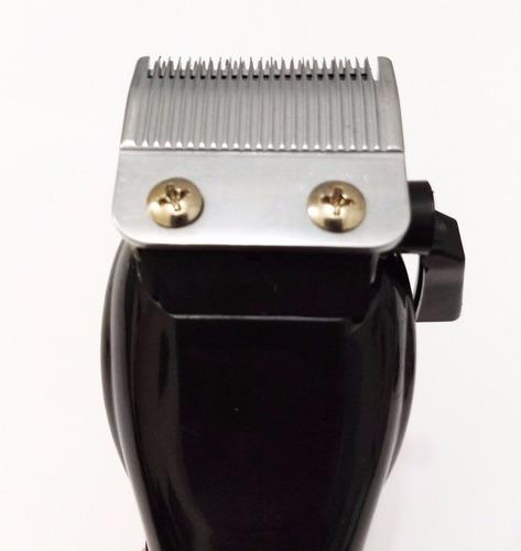 maquina corta cabelo barba profissional 110v c/ kit completo