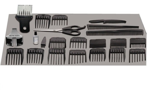 maquina corta pelo / barba ga-ma 24 accesorios
