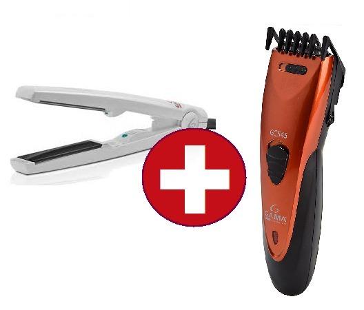 maquina corta pelo barba regulable + planchita pelo de viaje · corta pelo  pelo. Cargando zoom. 9f7339107581