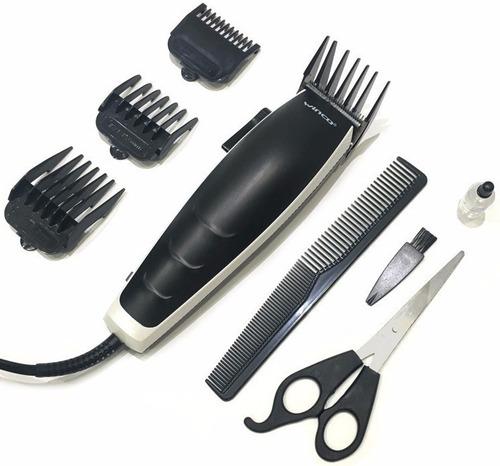 maquina corta pelo cortapelo barba patillas con accesorios 3mm 6mm 9mm y 12mm 220v tijera y peine