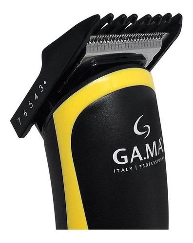 maquina corta pelo gama gcs547 sport usb + trimmer barba