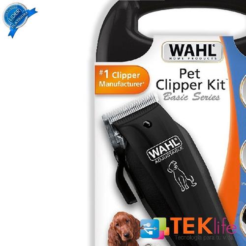 maquina corta pelo rasuradora de perro mascotas wahl casera negra cl
