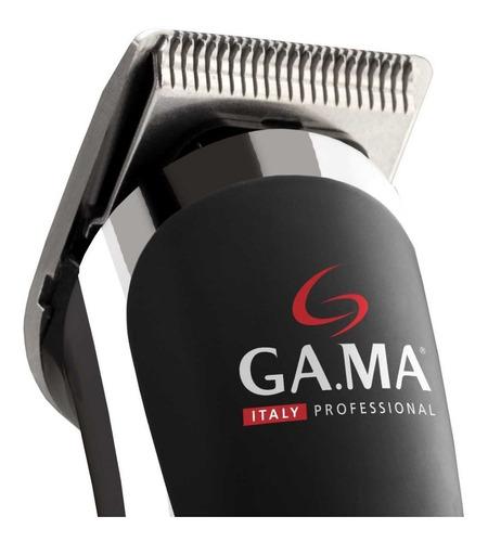 maquina corta pelo recortadora de barba gama trimmer gt527