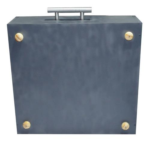 maquina cortador garrafa vidro  maleta viagem com acessórios
