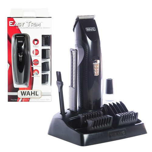 maquina cortadora barba patillera wahl easy trim trimmer