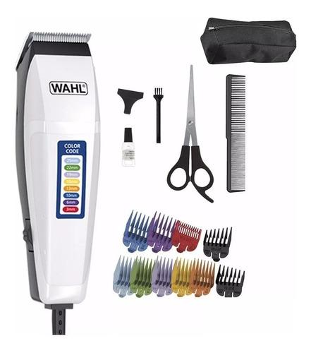 maquina cortadora de pelo wahl color code 17 piezas premium - garantia oficial