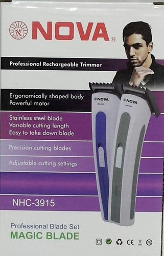 maquina cortadora  para barba en 4 niveles y cabello