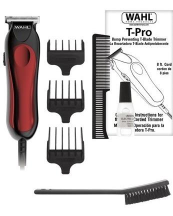 maquina cortadora patillera d precision wahl t-pro original