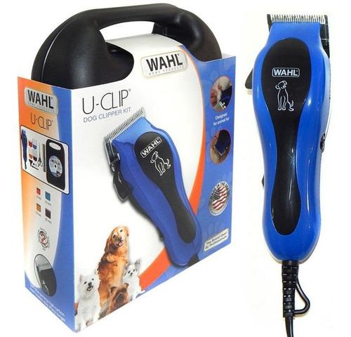 maquina cortadora pelo mascotas wahl u-clip perros