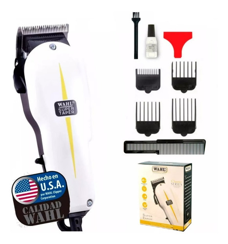 maquina cortadora pelo wahl super taper hair clipper