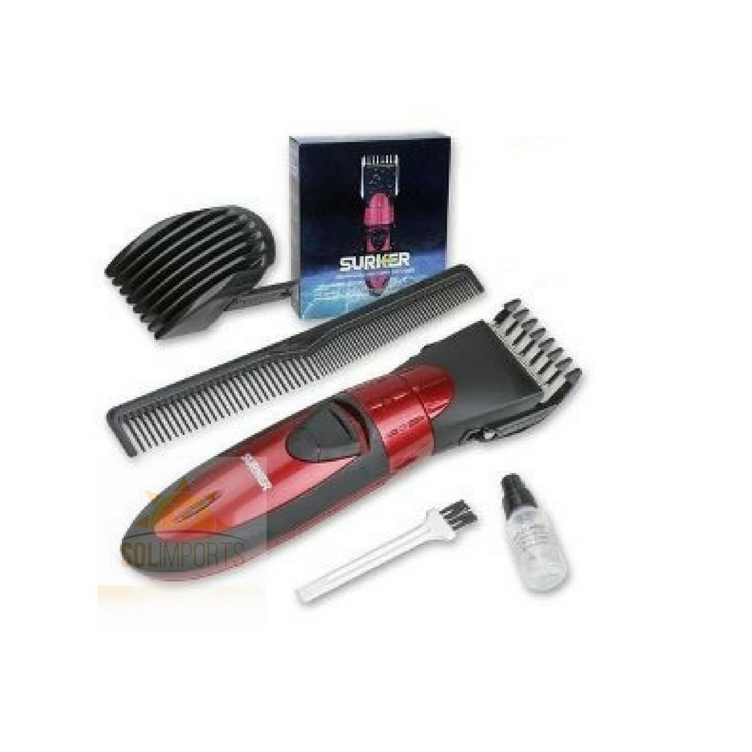 3b1a0d702 máquina cortar cabelo barba +prova d'agua+recarregável. Carregando zoom.