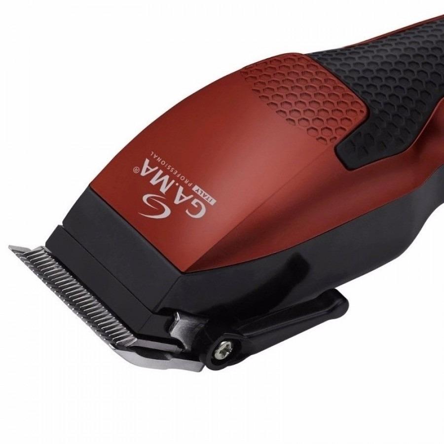 Maquina Cortar Cabelo Gama Gm 590 Red New 220v Promoção Top - R  138 ... a79a3ad9d781