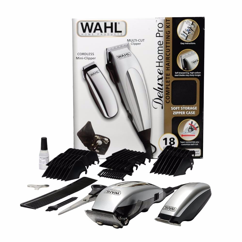 c3550a85b maquina cortar cabelo wahl profissional deluxe home pro 110v. Carregando  zoom.