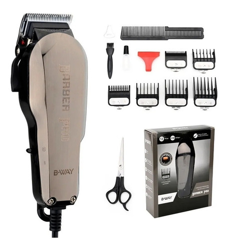 maquina cortar pelo b-way bw 1102 barbero pro peluqueria