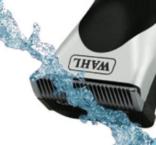 maquina cortar pelo barba wahl rinseable recargable lavable