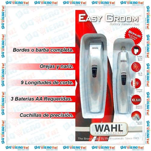 maquina cortar pelo home cut 20 pz wahl + nasal + patillera