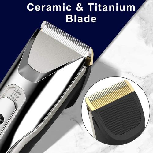 maquina corte pelo barba inalámbrica rasuradora kit recargab