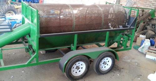 maquina cosechadora de semilla de calabaza / desemilladora