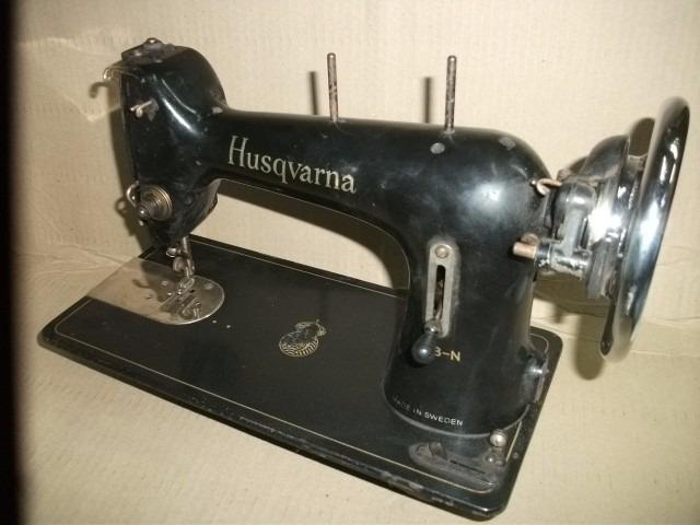 Maquina Coser Antigua Husqvarna, Coleccion, Decoracion