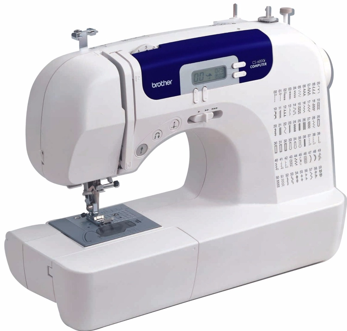 Maquina De Coser Brother Cs6000i Con Tabla - Envio Gratis