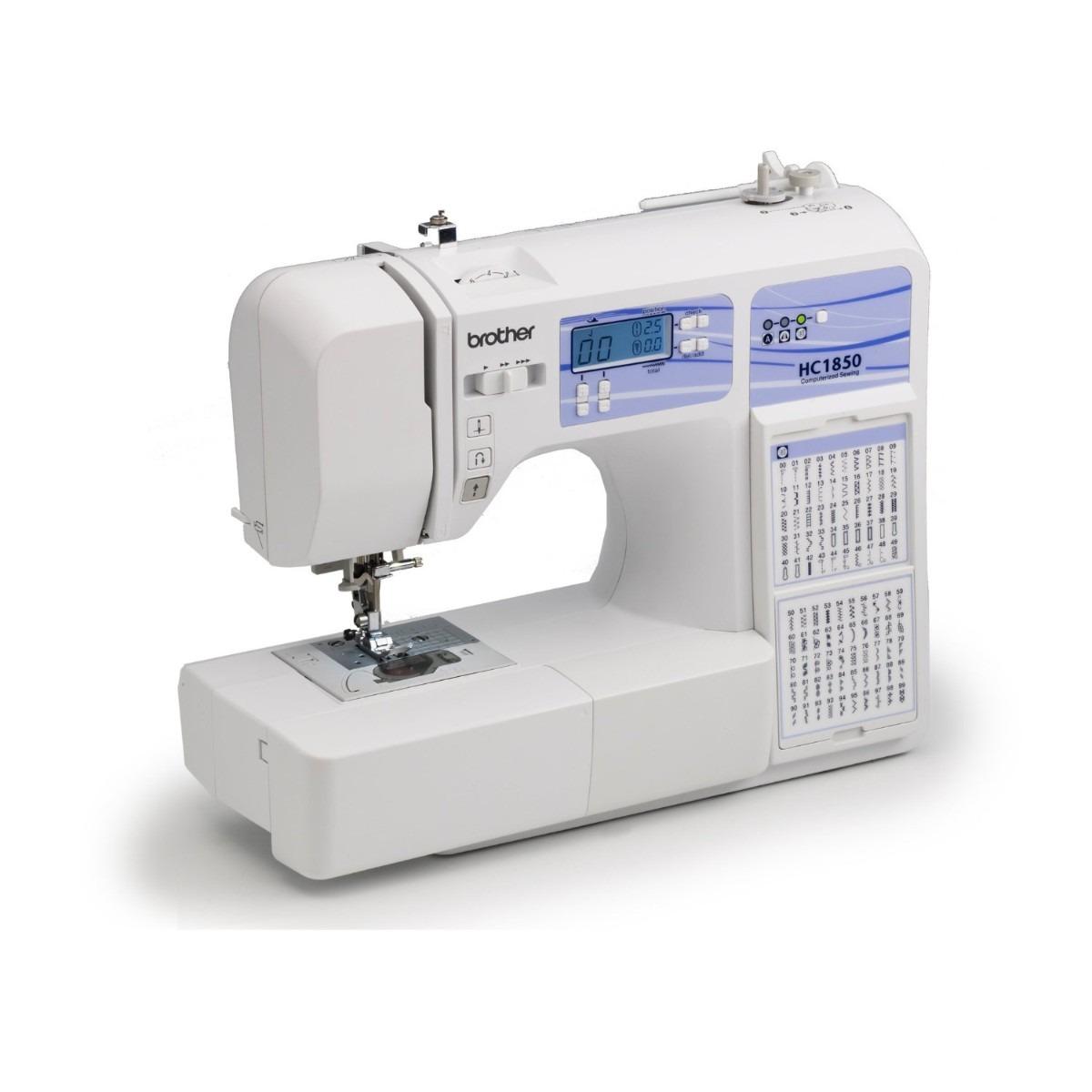 Maquina De Coser Brother Hc1850 Tabla 130 Puntadas Pm0