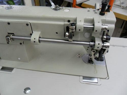 maquina coser doble arrastre