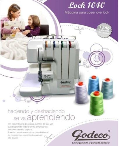 maquina coser godeco hogar