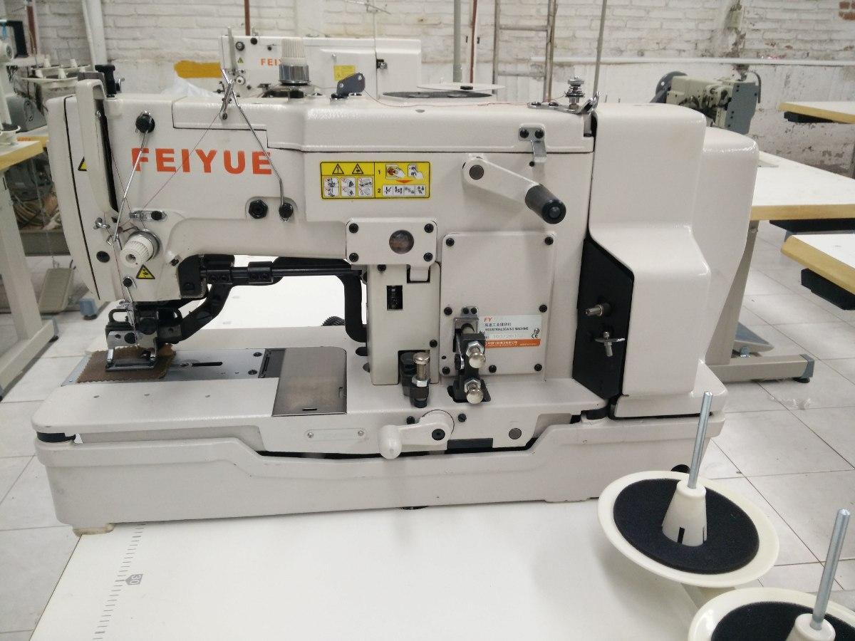 Maquina De Coser Ojal Recto Industrial 110v C Corte Oferta