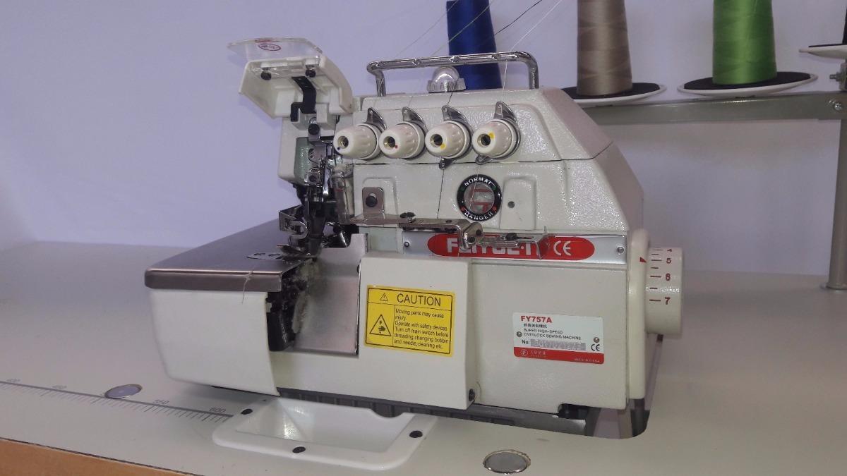 Maquina Coser Overlock 5 Hilos Oferta + Mesa Y Motor