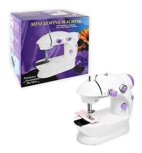 máquina coser portátil pedal eléctrica  r1086