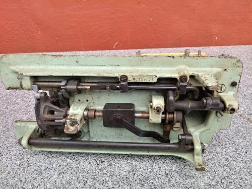 maquina costura antiga não funciona retirada peças decoração