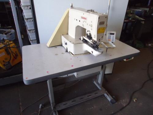 maquina costura industrial prega botão eltetrô sunstar 3681