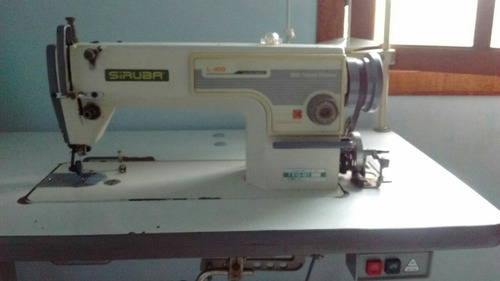 máquina costura industrial reta siruba