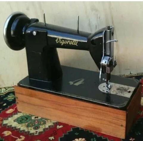 máquina costura vigorelli 5/1 motor pedal funcionando